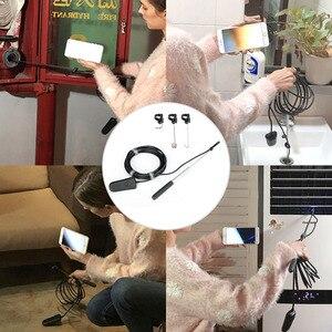 Image 5 - wifi Mini Camera HD 1200P IP68 Semi Rigid Tube Endoscope Camera Wireless Wifi Borescope Video Inspection for Android/iOS