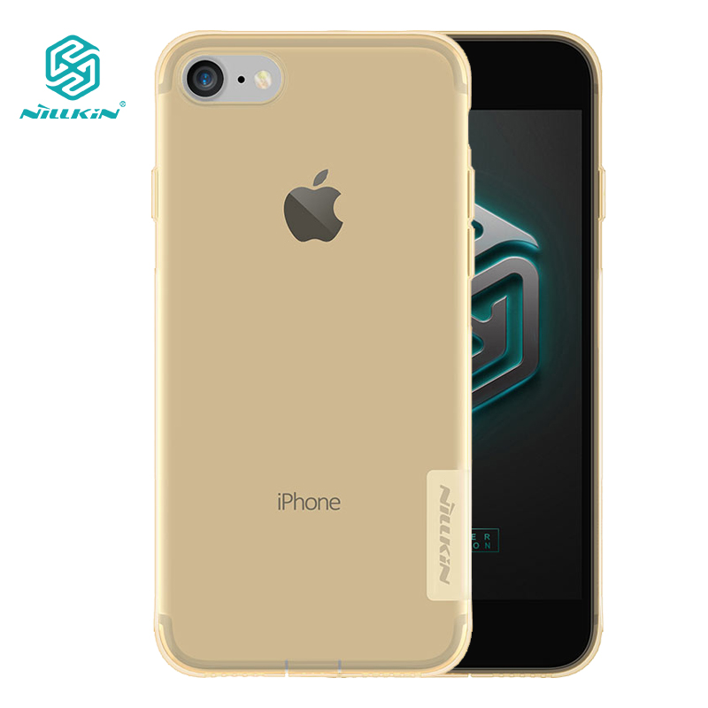 Nillkin Nature Transparent Clear Soft silicon TPU Protector case for iphone 8 case cover clear case for iphone8 cover 4.7 inch
