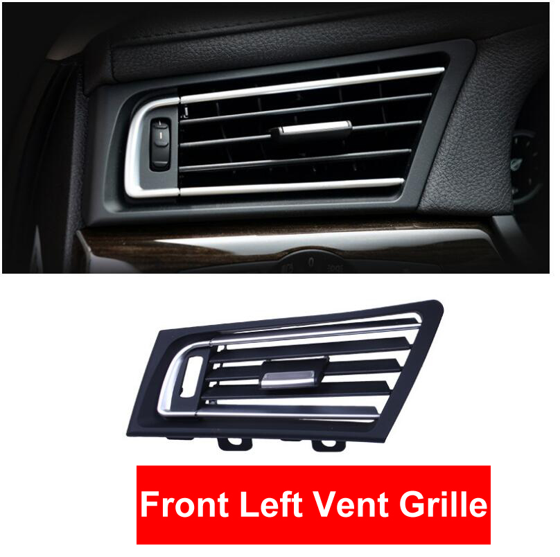 ABS Car Front Left Row Wind Air Conditioning Vent Grill Outlet Panel Chrome Plate Replace For BMW 7 series F01 F02 730 735 740 ABS Car Front Left Row Wind Air Conditioning Vent Grill Outlet Panel Chrome Plate Replace For BMW 7 series F01 F02 730 735 740