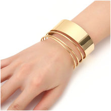 Exknl Brand Cuff Bracelets For Women Vintage Bangle Bohemian Multilayer Wide Bracelets & Bangles Femme Wholesale Fashion(China)