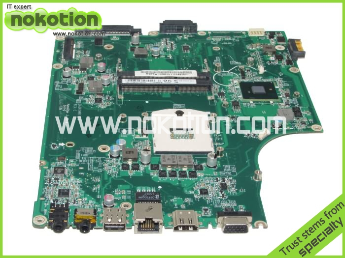 NOKOTION Laptop motherboard for Acer aspire 5745 MB.PTW06.002 MBPTW06002 DAZR7MB16C0 Intel HM55 GMA HD DDR3 Mother Board nokotion laptop motherboard for acer 5742 nv55c la 6582p intel hm55 integrated gma hd ddr3 mainboard