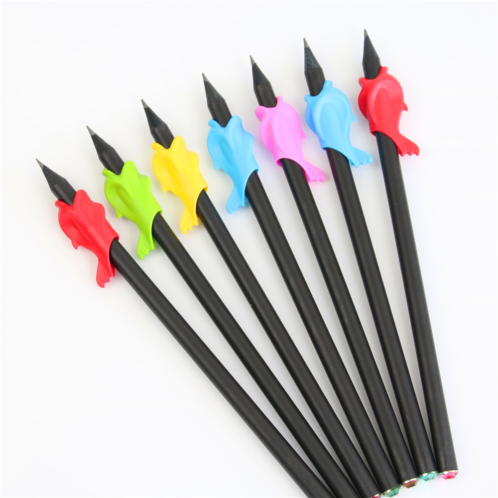 20pcs Students Pencil Hold A Pen Holding Practise Device For Correcting Pen Postures Grip Learning Stationery