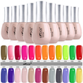16ml Beautiful Ekbas Gelpolish UV Top Coat Nail Polish Manufacturers Soak Off Nail Gel