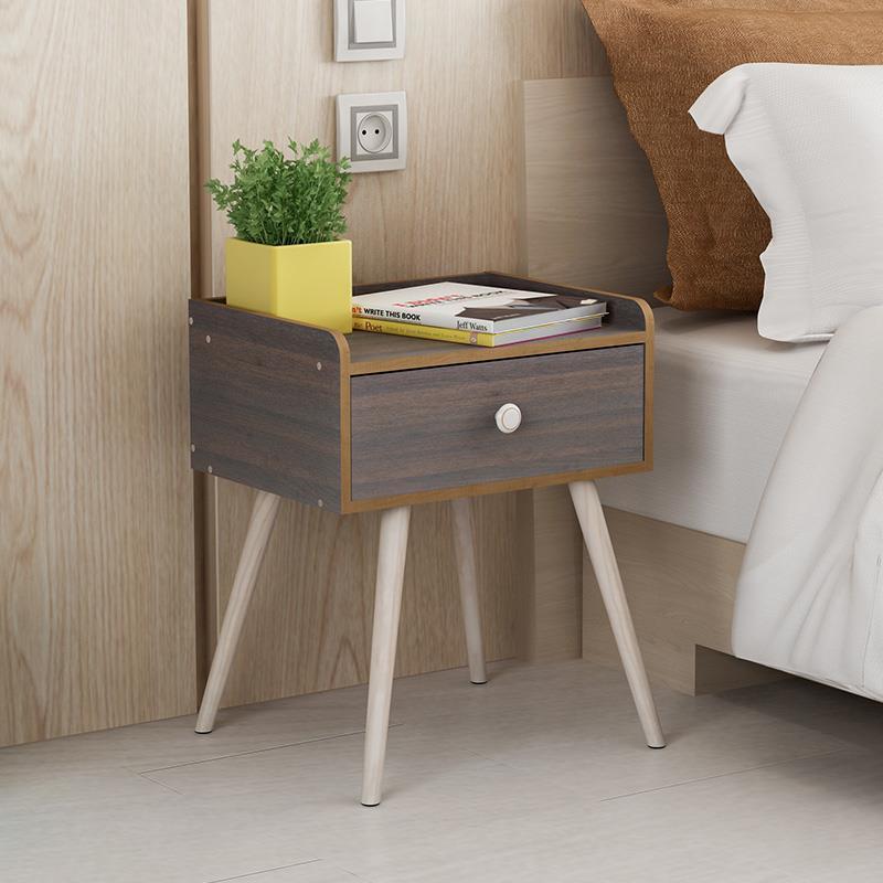 Vanity bedside modern cabinets Simple lockers Nightstand Mini bedroom Storage Nordic vanity fair