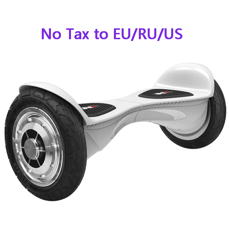 Balance Board With Wheels: 10inch Hoverboard 2 Wheels Smart Balance Scooter Hover