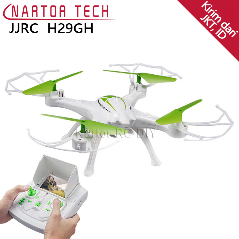 2018 New JJRC H29GH RC Quadcopter 2.4G 4CH 6-Axis Drone RC Toys Green Helicopter jjrc h33 mini drone rc quadcopter 6 axis rc helicopter quadrocopter rc drone one key return dron toys for children vs jjrc h31