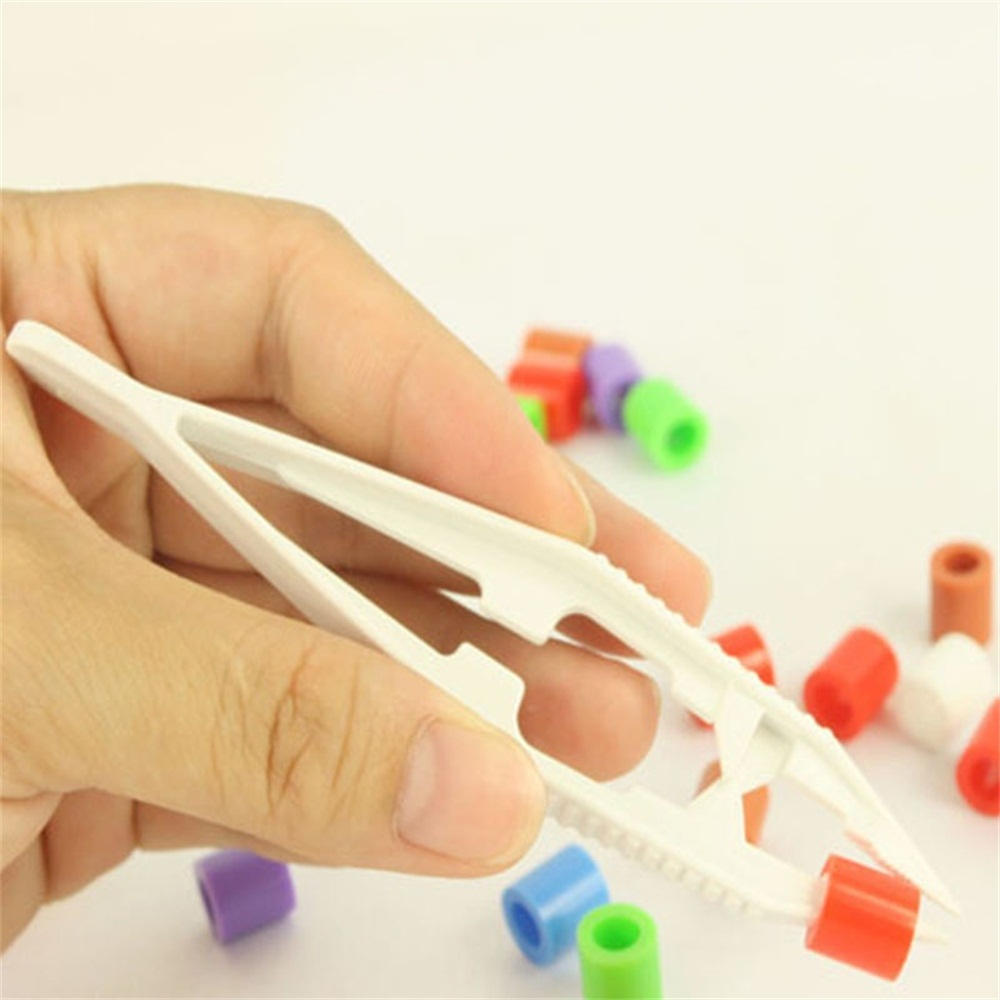 2pcs Education Toy Tools Tweezers Clips Kids Craft DIY Tool For Children Kids Boys Girls Intellectual Development