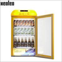 XEOLEO 65L напиток теплым дисплей коммерческих Hot кабинет пить напитки теплее Еда теплой машины 20 60 градусов/3 слой витрина