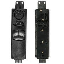 Frente de Izquierda de Control Maestro de Energía Eléctrica Interruptor de la ventana Para Mercedes Sprinter W906 Plástico Negro 1 UNIDS