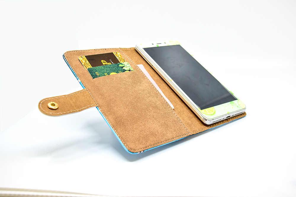Чехол для телефона из искусственной кожи Чехлы с принтом из мультфильма Флип Бумажник Стенд чехол для Jinga Fresh 4G Fresh