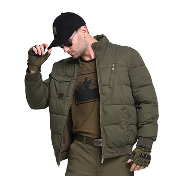 Tactical Miltary Training Cotton-padded Clothes Winter Men's Outdoor Camping Hiking Hunting Fishing Coat Male Thickening Jacket