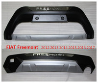 For FIAT Freemont 2012.2013.2014.2015.2016.2017 Auto BUMPER GUARD High Quality New ABS Guard Plate Front+Rear Car Accessories