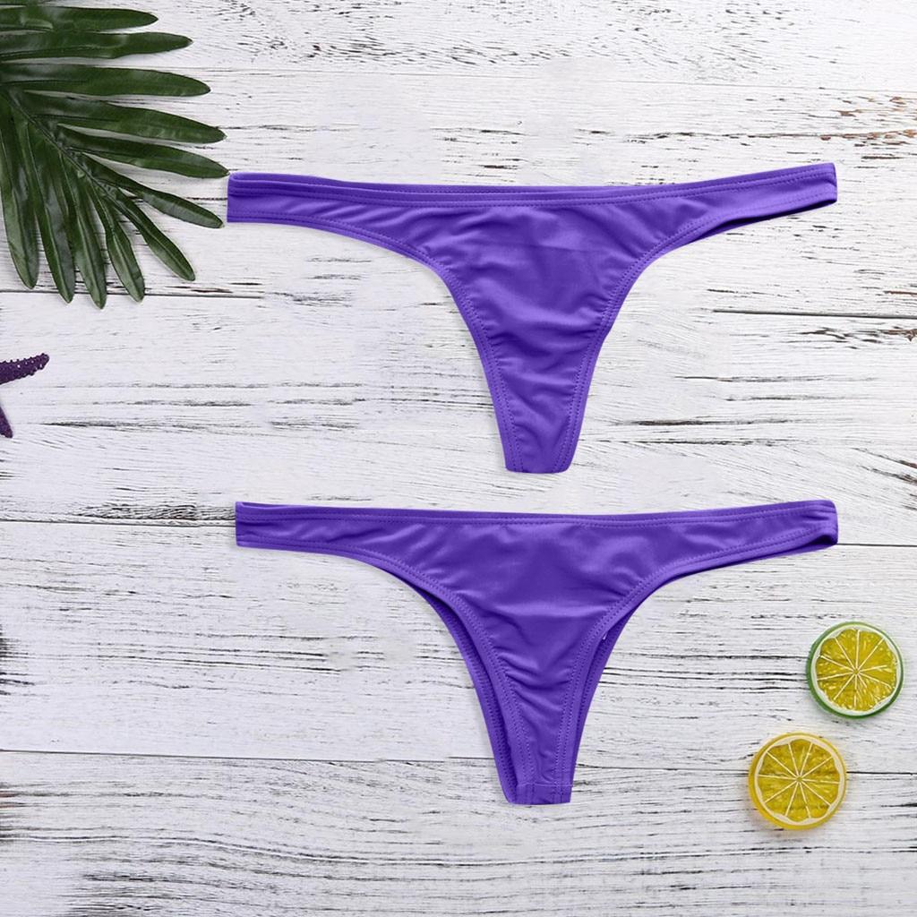 HTB1.J8dXgaH3KVjSZFpq6zhKpXaV S-6XL Sexy tiny brazilian bikini bottom female swimwear women G-string Briefs micro mini Thong Panties Underwear Plus size Tanga