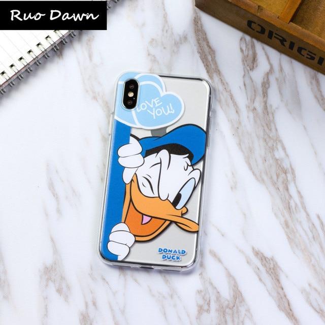 custodia donald duck iphone x