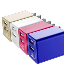 New 5V3a over 3C certified charger double USB plug for Android phone data cable charging head fast wireless