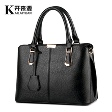 KLY 100% Genuine leather Women handbag 2018 New Sweet fashion handbag Crossbody Shoulder Handbag women messenger bags