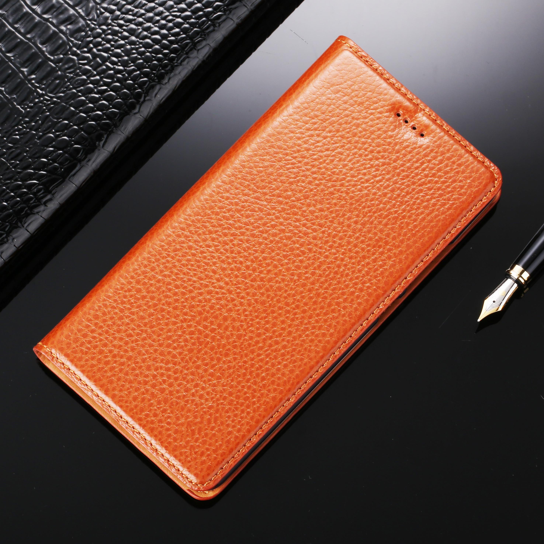 imágenes para Para Doogee Y300 Y200 Y100 Y6 T6 F3 F5 Pro X3 X5 X6 X7 X9 X10 Pro Max Litchi Caja Del Teléfono Móvil de Cuero Genuino cubierta