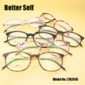 LTR2615 TR90 Men Eyeglasses Frame Super Light Retro Eyewear Designer Myopia Clear Women Glasses Frame Optical