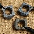 DICORIA TC4 único anel de dedo Knuck juntas soco punhais de Titânio Fivela EDC Sobrevivência ao ar livre ferramentas Multi