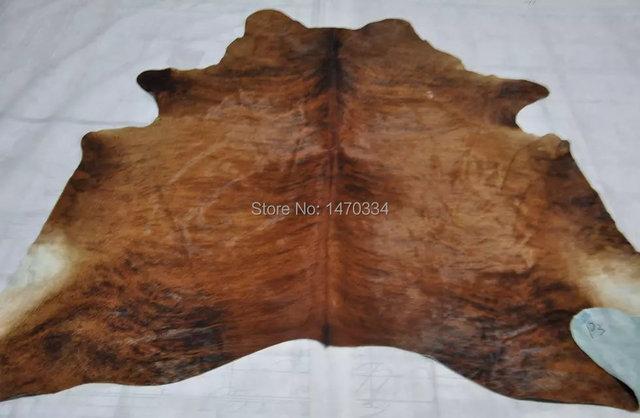 cow hide rug fur rug animal skin rugs natural cowhide rugs white black color 34