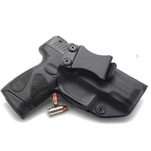 Image 2 - Inside the Waistband IWB Kydex Gun Holster For Taurus PT111 PT140 G2 Millenium G2C Glock 19 23 25 32 Concealed Carry