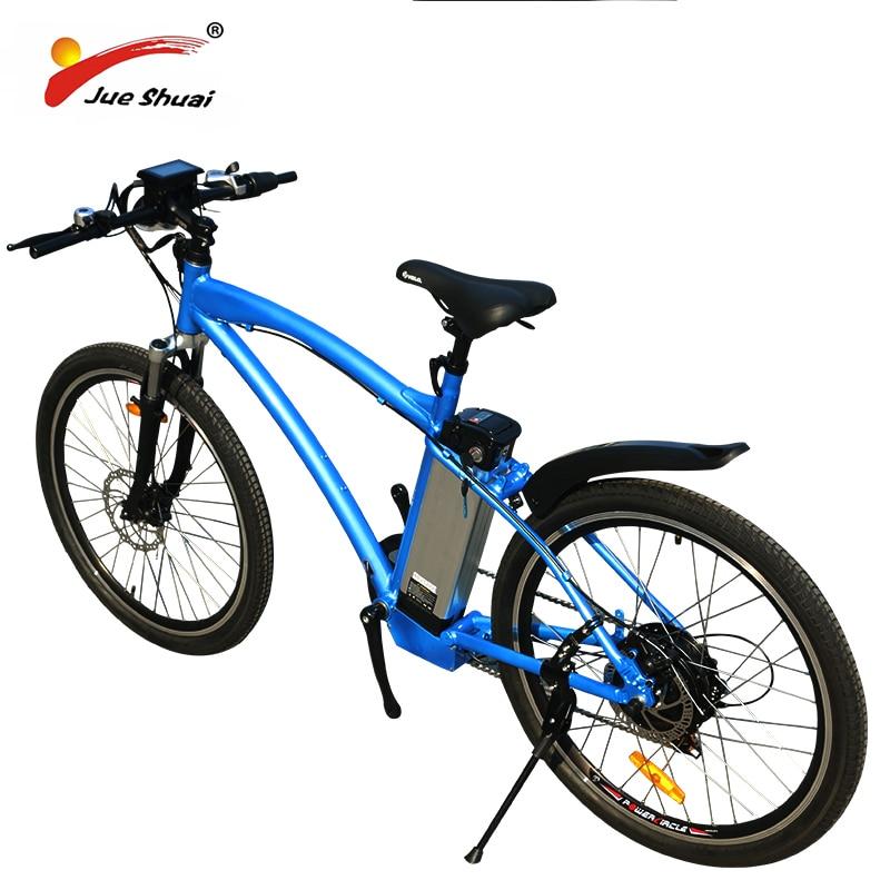 48 V 500 W vélo électrique montagne Ebike 48 V 12ah batterie au Lithium 26 2.125 vtt e vélo puissant e-bike bicicleta electrica