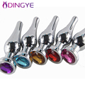 Large Stainless Steel Anal Sex toys Metal Butt Plugs Anus Health Monitors Sex Products Jewelry Anal Plug