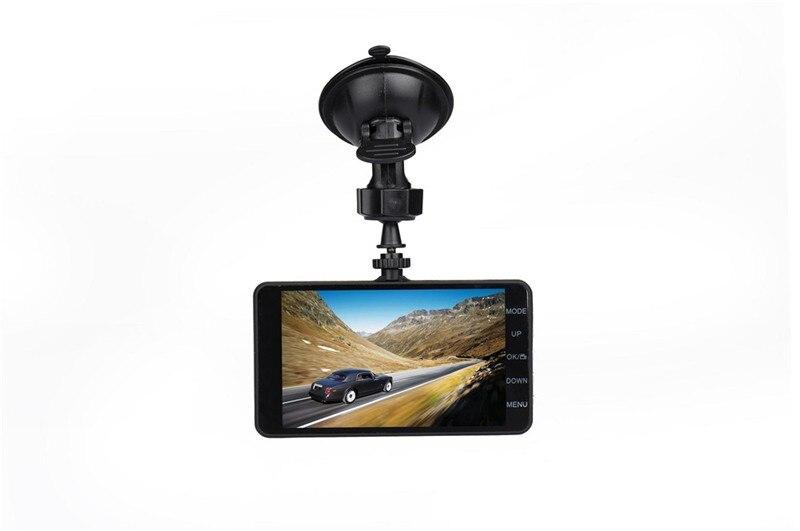 4 IPS dual cams car dvr camera Novatek 96658 chip dash cams HD1080P video registrator WDR car video recorder with two cameras