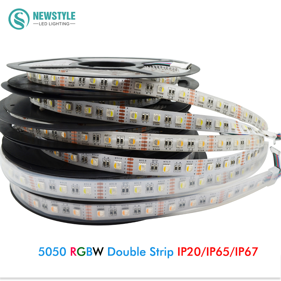 Dc12v Rgbw Rgbww 5050 Smd Led Strip Light 60led M 4 Colors
