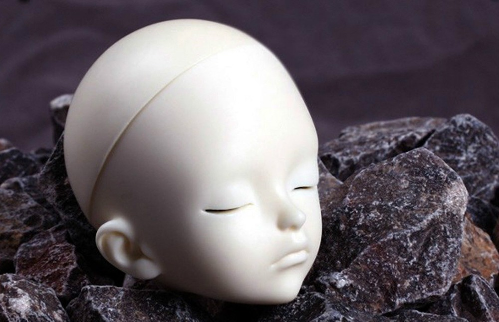 [wamami] AOD 1/6 BJD Dollfie Boy Doll Parts Single Head (Not Include Make-up)~Guai Guai 1 3rd 65cm bjd nude doll bazael bjd sd doll boy include face up not include clothes wig shoes and other access