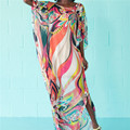Beach Dress Kaftan Pareo Sarongs Sexy Cover-Up Chiffon Bikini Swimwear Tunic Swimsuit Bathing Suit Cover Ups Robe De Plage #Q97