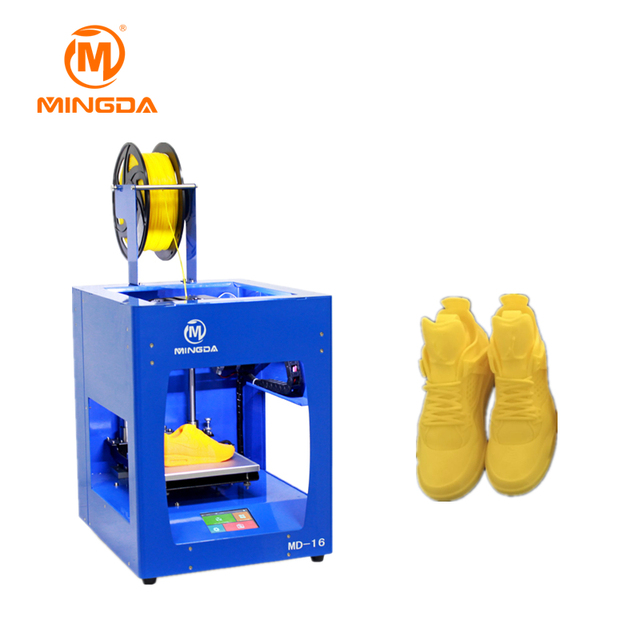 Mingda Desktops 3D Printer Machine 10Mm Thicken Heated Bed 3D Metal Printer 160*160*160Mm Stampante 3D With Memory Card Md-16-5