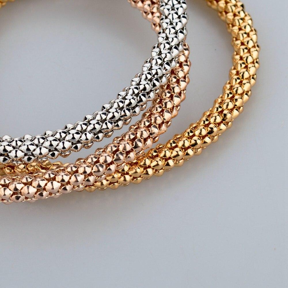 Modeschmuck armband gold  Aliexpress.com : Longway 2017 hochzeit gold farbe armbänder ...