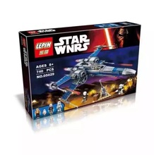 LEPIN 05029 Star Wars Resistance X-Wing Fighter Action Figure Building Block Minifigure Toys Compatible with Legoe