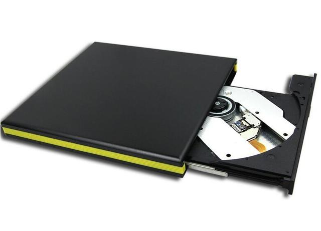 Portátil Ultra Slim Externo USB 3.0 CD-RW/DVD-RW Burner Escritor Drive de DVD Externo para Laptops Notebook de Desktop