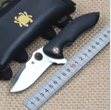 High quality C187 Ball Bearing Folding Camping Knife CPM S30V Blade Pocket Combat Knife G10 Handle Tactical Survival Knives EDC