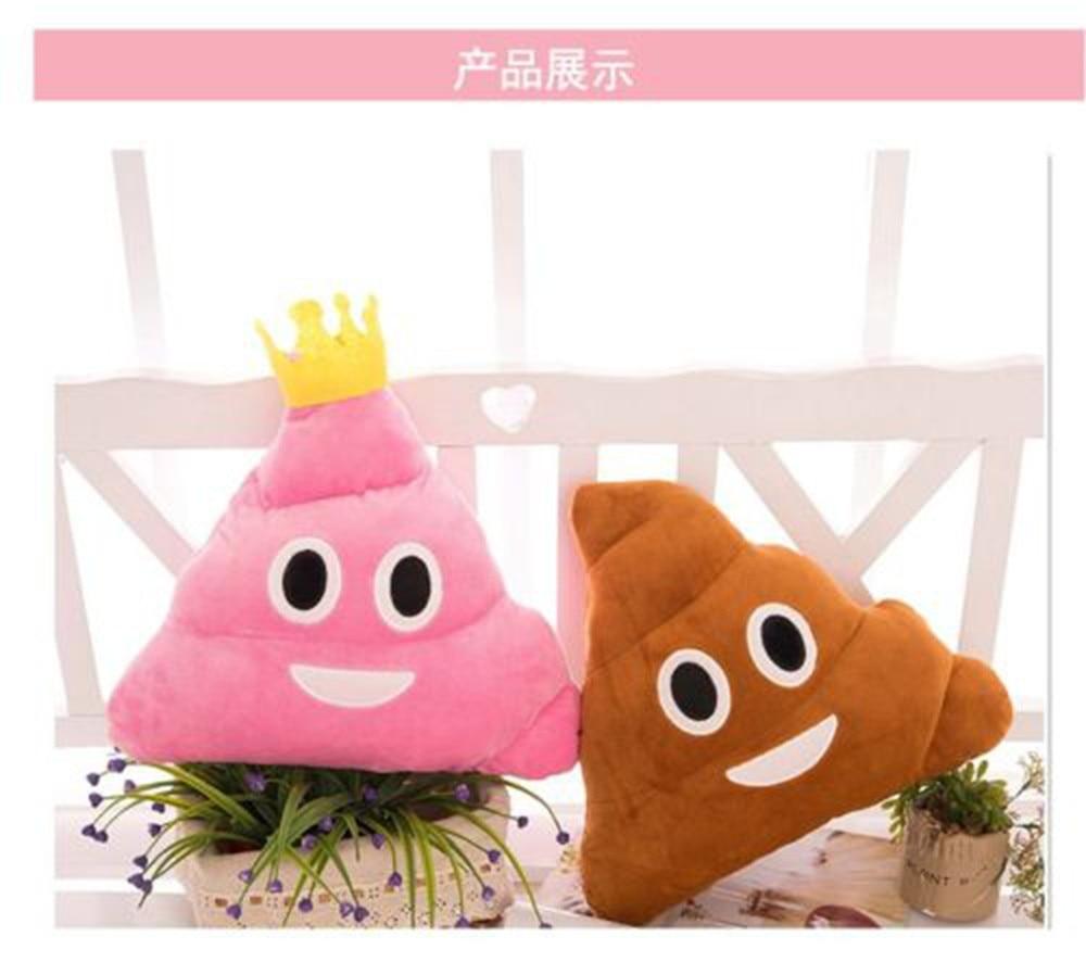 Reisaccessoires, bagage Pink Queen Poop Princess Emoji