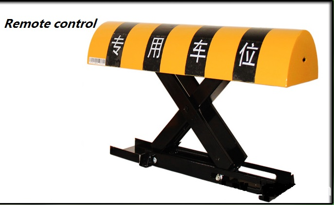 Automatic Remote Controlled Parking Lock/parking Barrier/ Parking Space Lock No Battery