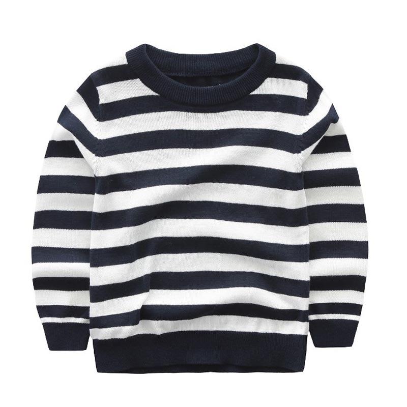 Baby girls tops children t shirts black white stripes long for Dark denim toddler shirt