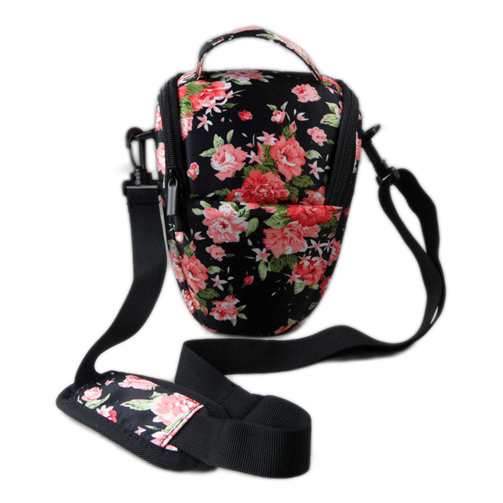 for Case <font><b>Cover</b></font> Neoprene Camera Bag for <font><b>Canon</b></font> EOS 200D 1500D 1300D 1200D 100D 1000D 1100D 600D 750D 760D 450D <font><b>550D</b></font> 18-55mm Lens image
