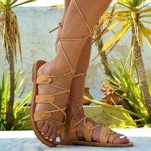 Disfruta Envío Roman Del Leather Gratuito Y Sandals Compra En 8nPwOk0