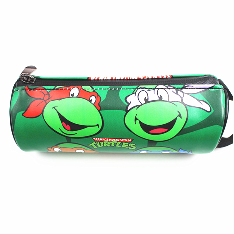 New Arrival Teenage Mutant Ninja Turtles Wallet Monederos Coin Pouch Men Wallets Zipper Bag Purse Pencil Pen Case Cases