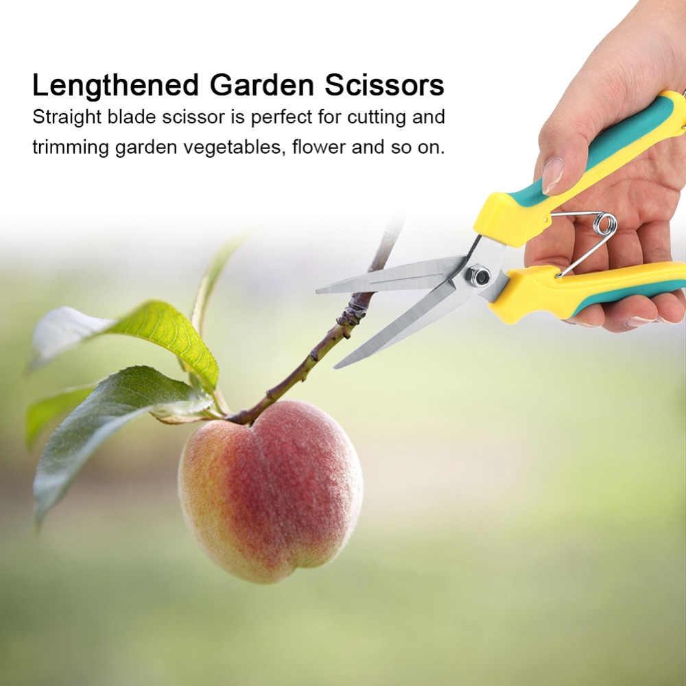 Домашний saleNew Модернизированный секатор садовый ножничный секатор для веток резак с пружина блокировки садовые ножницы инструменты