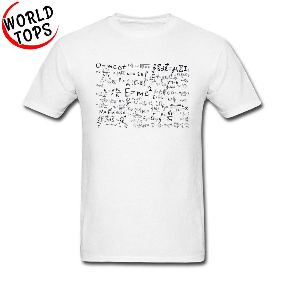 US $7 32 40% OFF|Math Question Answer Charade Mathematiques T Shirt For  College Student New Listing White Fashion Cheap Tshirt On Sale Best-in