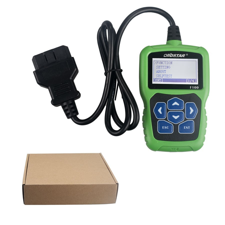 Original OBDSTAR F100 Auto Key Programmer No Need Pin Code Support New Models and Odometer OBDSTAR F-100 Free
