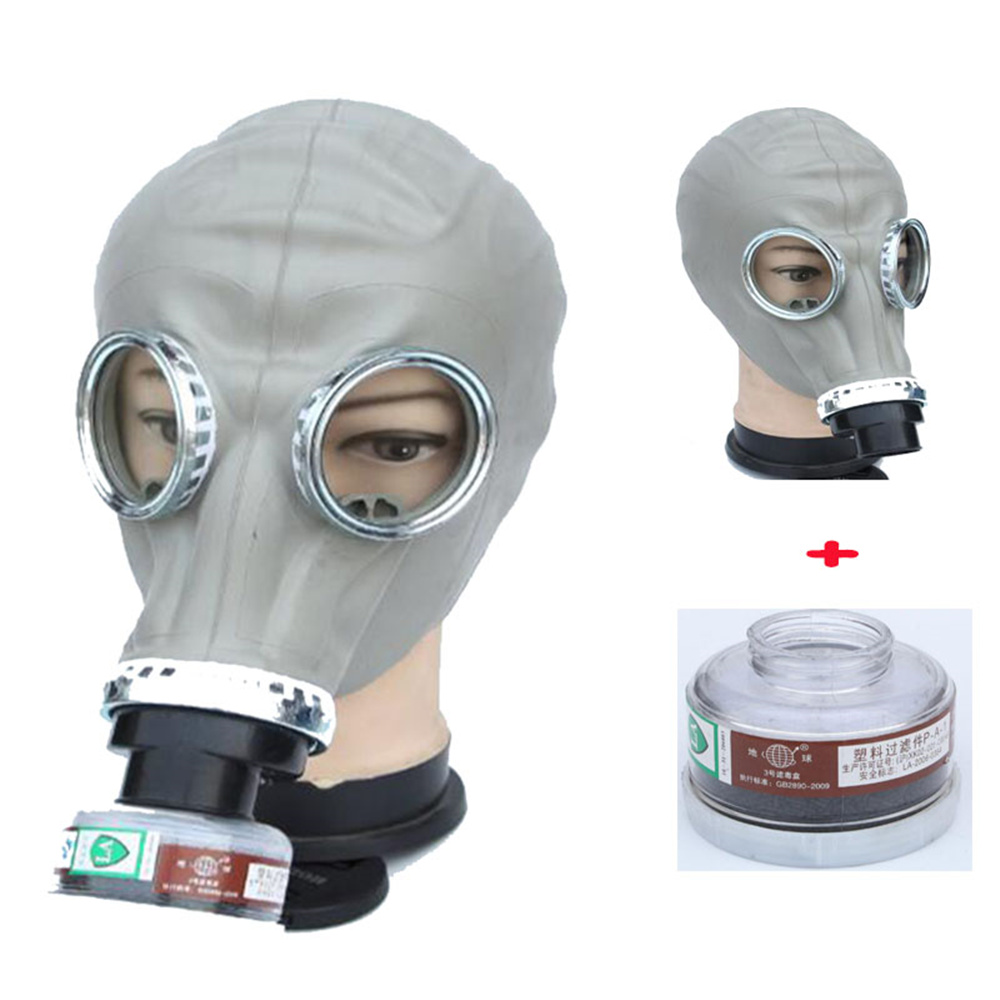 Full Face Respirator 2 in 1 Paint Spraying Military soviet Russian gas mask Chemcial Full Face Facepiece Industry Respirator painting spraying dust mask russian soviet military vintage gas mask full face facepiece respirator 40mm