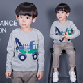 Quality 100% Terry Cotton Sweaters New 2017 Brand Baby Boys Clothing Children Kids Clothes Boys Sweatshirt t shirts Hoodies Boys