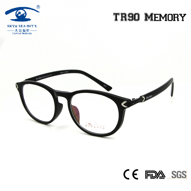 c1b219490a SKY SEA OPTICAL Retro Round Prescription Eyeglass Frame Korean Glasses  Frames Women Vintage Clear Lens Rx-able Eyewear