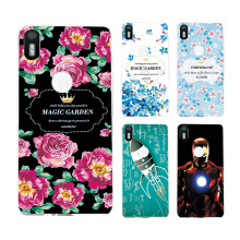 "New Arrived Ample Flower Phone Case For BQ Aquaris X5 Plus 5.0"" Soft Silicon Cover Fundas Capa For BQ X5 Plus+Free Gift"