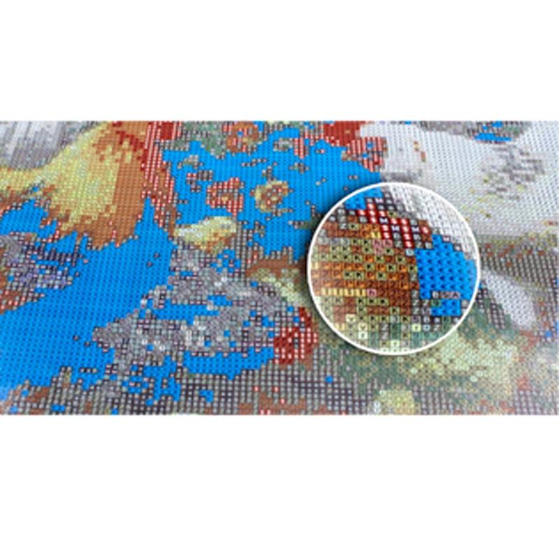 3D DIY Tam almaz naxış nişan almaz din Firon Meydanı Rhinestones - İncəsənət, sənətkarlıq və tikiş - Fotoqrafiya 6